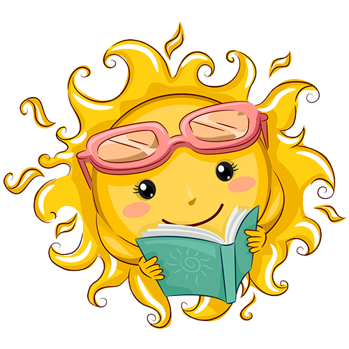 Image result for summer reading clipart