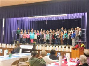 Link Second Graders finish with high spirits!
