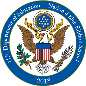 US Dept Of Education Blue Ribbon School Award Crest