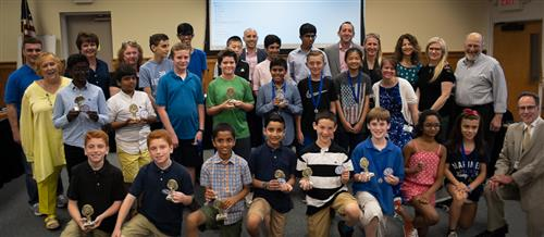 Math Olympiad and Word Masters Awards