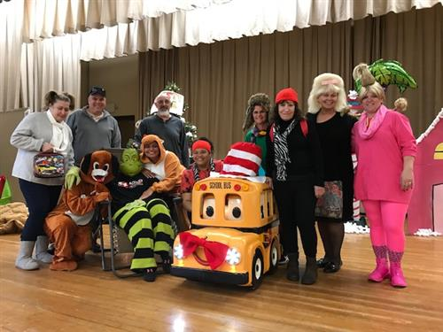"Students Learn Bus Safety from Buster ""The Talking Bus"""