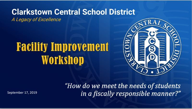 BOE Facilities Workshop - September 17, 2019
