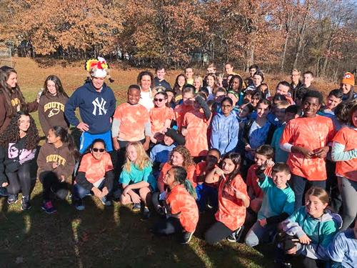 Turkey Trot at Bardonia Elementary