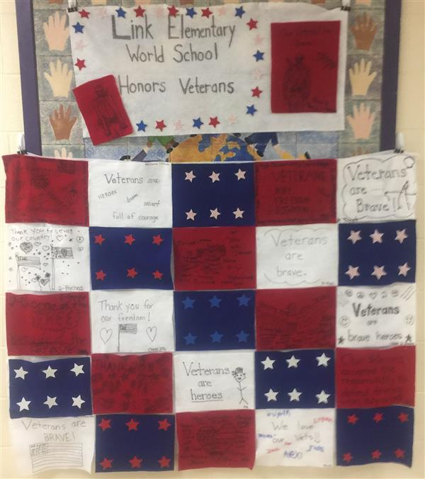 Link IB World School Honors Our Veterans!