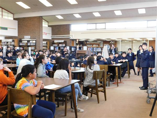 World Language - Department / Japanese students from Bunri ...